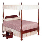 Cream Lace Bed Canopy Top - Twin and Full sizes