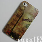 New London Big Ben Clock Pattern Design Hard Back Cover Case For iPhone 4 4G 4S
