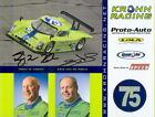 2008 Krohn Racing #75 Pontiac Daytona Prototype signed Grand Am postcard