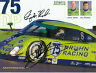 2006 Krohn Racing #75 Ford Daytona Prototype signed Grand Am postcard