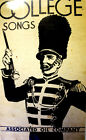 College Songs, 1940's. Associated oil company, man with hat holding baton