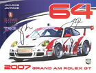 2007 JLowe Racing TRG Porsche 997 GT3 Cup signed Grand Am postcard