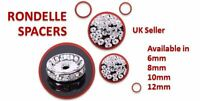 RHINESTONE SILVER PLATED RONDELLE SPACER BEADS