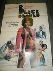 BLACK HOOKER / ORIGINAL U.S. ONE-SHEET MOVIE POSTER (SANDRA ALEXANDRA)