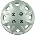 "Premium Silver Wheel Covers 13"" SET OF 4 (#854)"