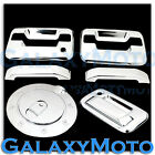 09-14 Ford F150 Chrome 2 Door Handle+no keypad no PSG keyhole+Tailgate+Gas Cover