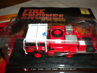 Del Prado World Fire Engines - France CCF 2000 IVECO 80 - 17 boxed issue 7
