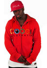 HOT!! Authentic Red COOGI Street Underground Embroidery Zip Hoodie Size M