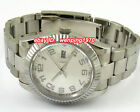 E575,40mm White Dial Sapphire Glass Automatic Watch