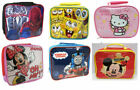 Childrens Kids Character Insulated School Picnic Travel Lunch Box Food Bags