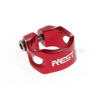 Aest Road Bike Red MTB Bicycle saddle Seat Post Seatpost Clamp 31.8mm New