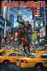 Iron Maiden New York POSTER 60x90cm NEW * horse trooper attacking times square