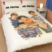 One Direction Crush Double Duvet Cover Bed Set Harry Zayn Liam Louis Niall