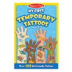 Melissa and Doug * My First Temporary Tattoos - Boy * NEW * arts craft set