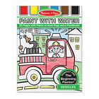 Melissa and Doug * Paint with water - Vehicles * NEW * arts craft beginning