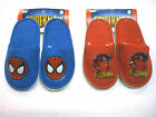 Spiderman Slippers Non Skid Licensed Marvel Blue & Red