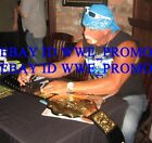 TNA WCW WWE Hulk Hogan World Championship Signed Belt Wrestling