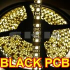 5M Black PCB Waterproof 3528 SMD Warm White 600 LED Strip Light + Tracking M