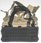 Condor MCR4 OPS Chest Rig MOLLE Tactical Panel Vest Pouch OD Black Coyote Tan