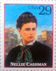 Nellie Cashman - USPS stamp pin - Legends of the West