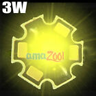 5pcs x High-Power Yellow 3W 90Lm LED Super bright 3Watt light