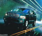 Big 2004 INFINITI QX56 / QX-56 Brochure / Catalog with Color Chart; 4WD