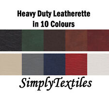 """HEAVY DUTY FAUX LEATHER, LEATHERETTE, UPHOLSTERY, VINYL FABRIC 54"""" WIDTH"""