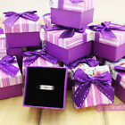 Wholesale 24pcs Gift Boxes jewellery finger ring gift case box 1028
