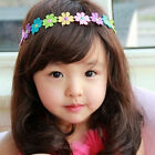 Hot Baby Girl Princess Toddlers Head Dress Decor Lace Flower Hair Band Headband