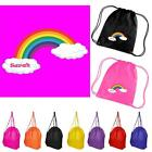 Personalised Rainbow Backpack - Assorted Bag Colours