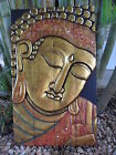 Balinese Splitted Buddha Face - 4 Panel - 95cm high