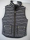 NWT J. Crew JCrew Excursion Quilted Puffer Vest Stripes Striped Small Medium