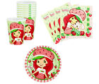 Strawberry Shortcake Birthday Party Supplies Plates Napkins Cups Set for 8 or 16