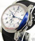 Breguet Marine Auto Chronograph Mens White Gold 5827BB