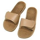 Maseur Invigorating Beige Massage Sandals Size 7