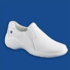 Nurse Mates Leather Shoes - Wide Width ( Style - DOVE )