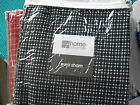 """JCPenney Euro Pillow Sham """"Bayport"""" 26"""" x 26"""" NAVY-WHITE (last 12 to sell)"""