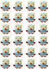 24 PERSONALISED *ICING* Giggle & Hoot (Hoot) Edible Image Cupcake Toppers