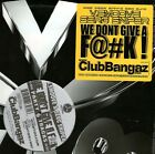 "V SMOOVE & SERG SNIPER / WE DON'T GIVE A F**K 12"" AV8 PARTY HIP HOP SEALED AV303"