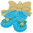 """ BABY BOY "" CHRISTMAS TREE Keepsake - ( Free Engraving ) New Born Gift Ornament"