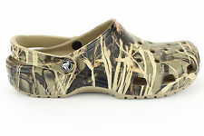 Crocs REALTREE MAX-4 Camo Clog ATV Shoes, Classic Cayman Sizes M4-17