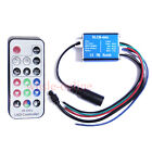New 17Key IR Comtroller 12/24V For RGB 3528/5050 Led Strips Lights Module Hot