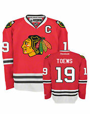 Youth Chicago Blackhawks Jonathan Toews #19 Premier Home Jersey Red NHL Stitched