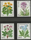 1983 Iceland Flowers, complete set, 4v. All MNH. SG622 - 625