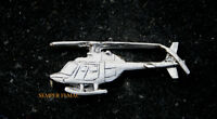 US ARMY BELL OH-58A KIOWA PEWTER HAT PIN HELICOPTER