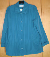 Dannimac Pacific Blue Jacket Size XL   uk 18/20