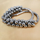 Retro Necklace Pendent Chain Jewelry Multilayer Silver Black Beads New Arrival e