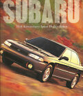 1999 Subaru 30th ANNIVERSARY SPORT UTILITY SEDAN Brochure / Catalog