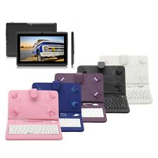 """iRULU eXpro Tablet PC Blue New 7"""" 8GB Google Android 4.4 Quad Core w/ Keyboard"""