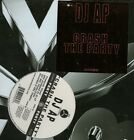 "DJ AP / CRASH THE PARTY 12"" OG US AV8 PARTY HIP HOP VINYL SEALED AV456 A.P."